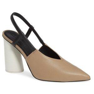 Mercedes Castillo Elisa Colorblock Slingback Heels